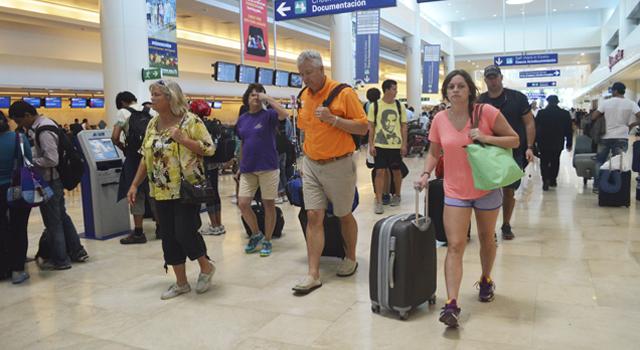 Las aerolíneas latinoamericanas más importantes tiene vuelos a Cancún