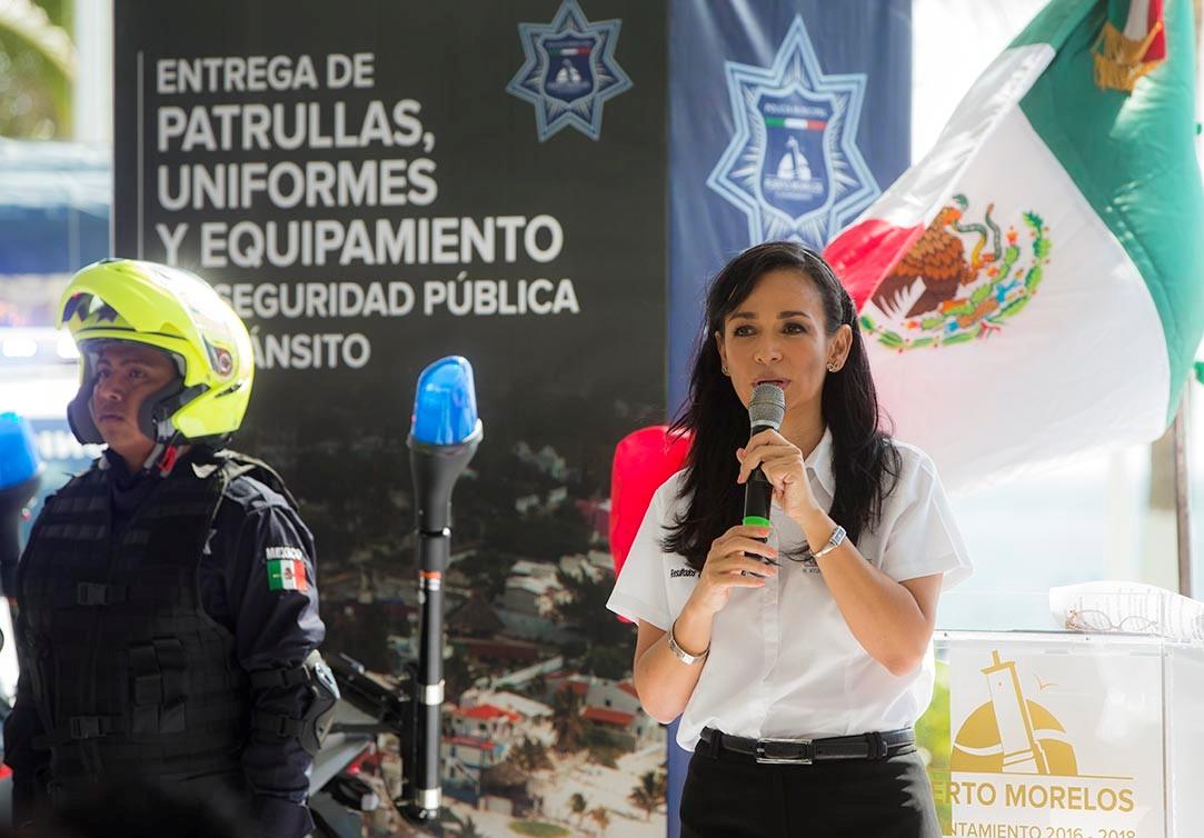 La alcaldesa señaló que se trabajará en una estrategia de aproximación social a la policía