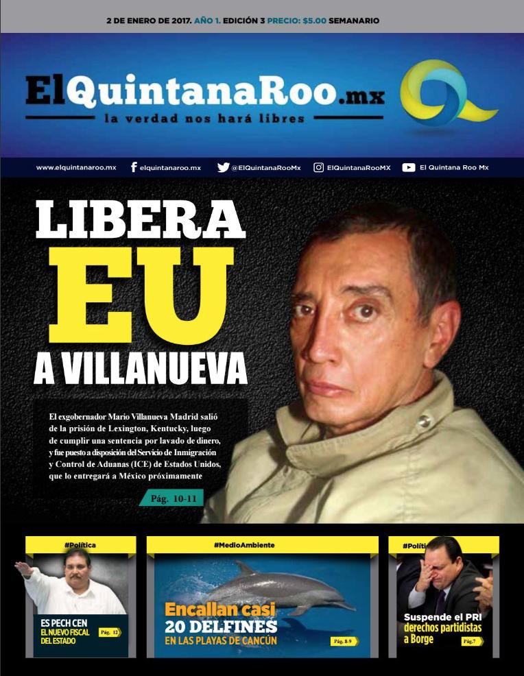 SEMANARIO EL QUINTANA ROO MX EDICIÓN 003 AÑO 1